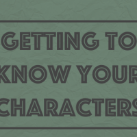 Getting to Know Your Characters